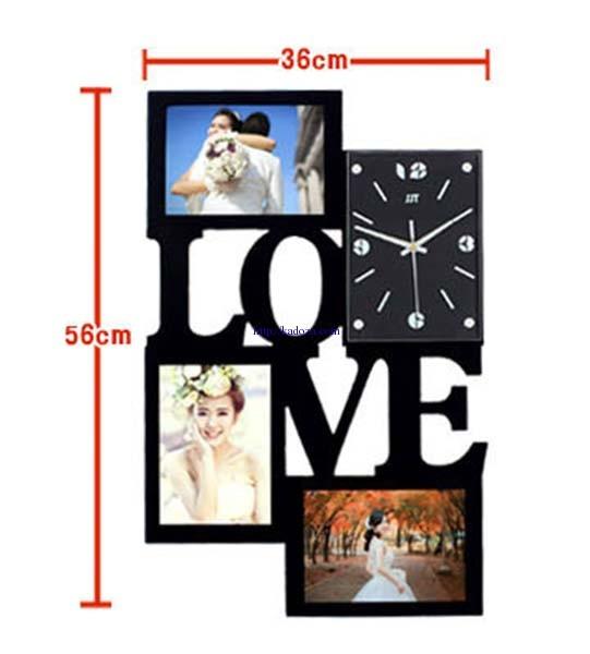 Kích thước đồng hồ khung ảnh