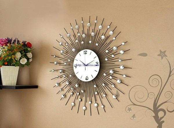 đồng hồ trang trí phòng khách m9100- 60