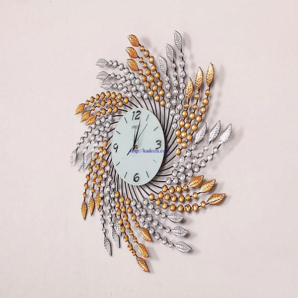 đồng hồ treo tường mỹ thuật dong-ho-trang-tri-treo-tuong-pha-le-hq175-anh-3