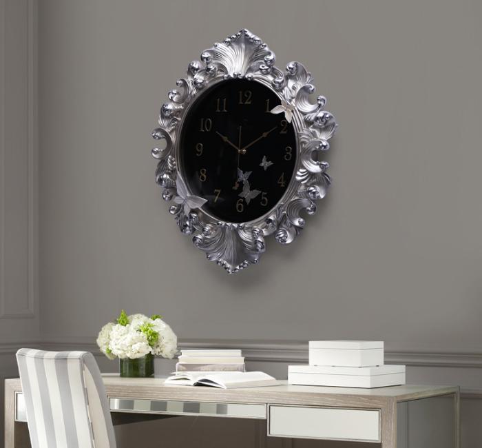 Đồng hồ trang trí gương thần nghệ thuật kadoza