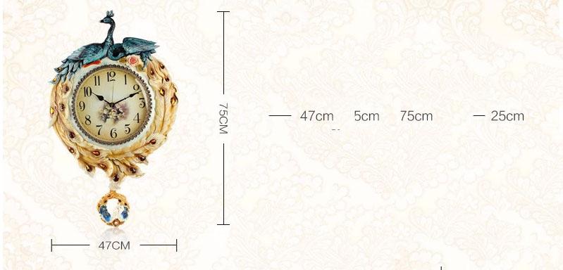 Đồng hồ trang trí hoàng gia KZ203
