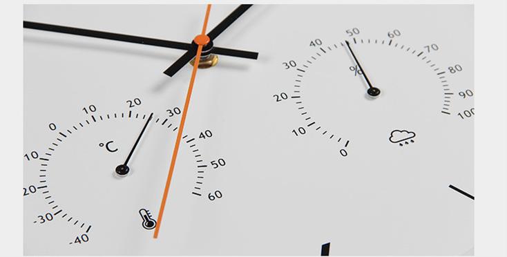 Đồng hồ treo tường DZ806 đo nhiệt độ độ ẩm