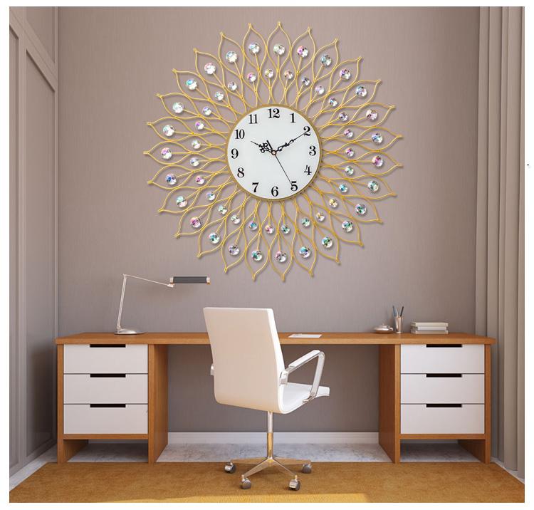 Đồng hồ treo tường tạo hình nghệ thuật K9003T