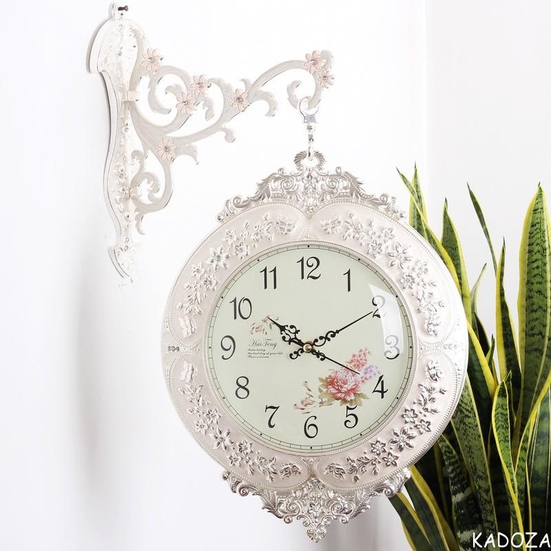 Đồng hồ treo tường hai mặt