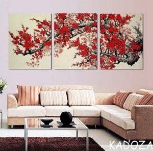 tranh-ghep-3-buc-hoa-dao-tham-xuan-G2118-anh2