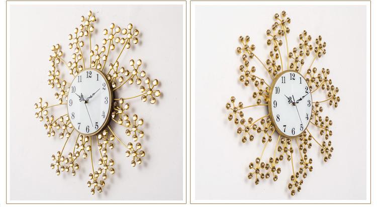 Đồng hồ trang trí hoa trinh nữ K99923