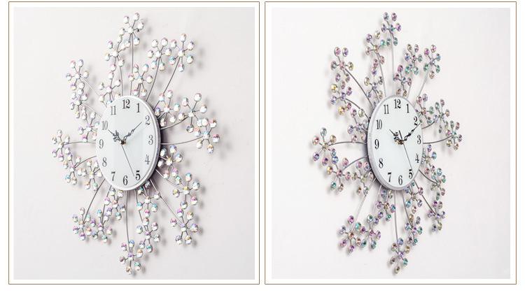 Đồng hồ trang trí hoa trinh nữ K99924