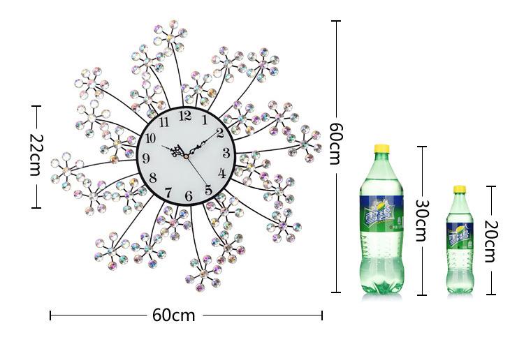 Đồng hồ trang trí hoa trinh nữ K9997