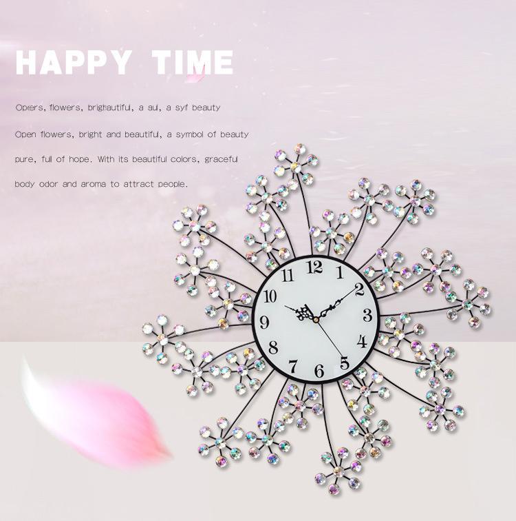Đồng hồ trang trí hoa trinh nữ K9999